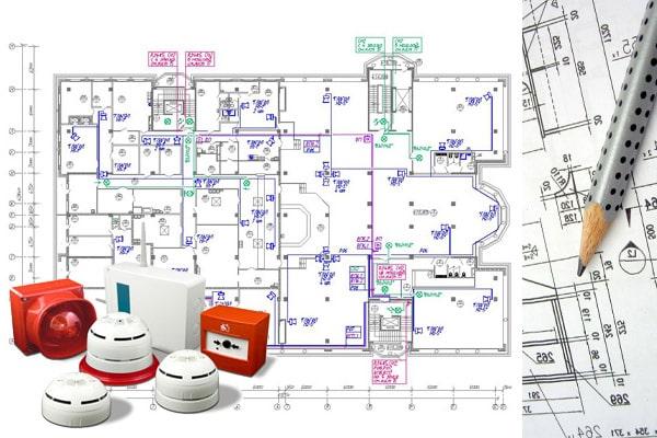 Проект пожарной сигнализации